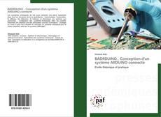Capa do livro de BADRDUINO , Conception d'un système ARDUINO connecté