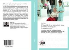 Buchcover von Efficacité de la formation pour prévenir les risques professionnels