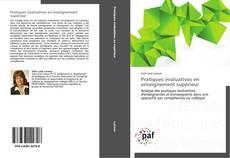 Pratiques évaluatives en enseignement supérieur kitap kapağı