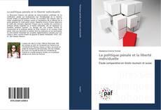 Capa do livro de La politique pénale et la liberté individuelle