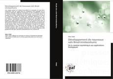 Bookcover of Développement de nouveaux sels Binol-imidazoliums