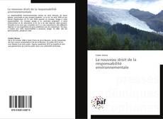 Обложка Le nouveau droit de la responsabilité environnementale