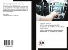 Buchcover von IHM adaptative suivant le niveau du chauffeur et le risque d'accident