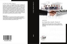 Bookcover of Le choix du coach, Tome 2