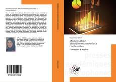 Modélisation Mutidimensionnelle à contraintes kitap kapağı