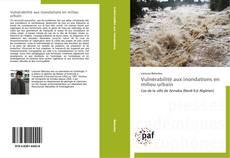 Capa do livro de Vulnérabilité aux inondations en milieu urbain