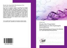 Étude Des Propriétés Rhéologiques Des Hydrogels Biomédicaux的封面