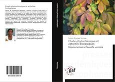 Capa do livro de Etude phytochimique et activités biologiques