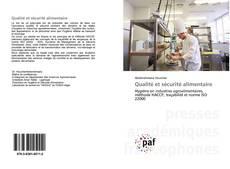 Couverture de Qualité et sécurité alimentaire