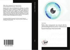 Bookcover of Rôle des caspases au cours de la photodégénérescence rétinienne