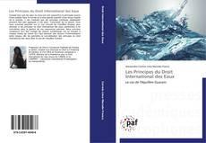 Copertina di Les Principes du Droit International des Eaux