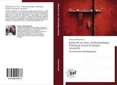 Bookcover of Belle-Ile en mer. Anthropologie Poétique d'une Écologie Insulaire