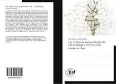 Les sténoses congénitales de l'œsophage chez l'enfant kitap kapağı
