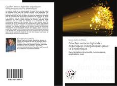 Bookcover of Couches minces hybrides organiques-inorganiques pour la photonique