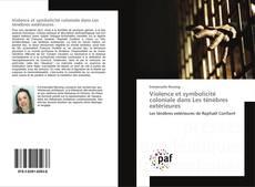 Buchcover von Violence et symbolicité coloniale dans Les ténèbres extérieures