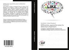 Couverture de Différentes approches pour la détection d'opinions