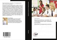Portada del libro de Représentations sociales et l'enseignement des sciences humaines