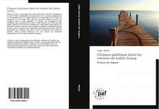 Bookcover of L'Espace poétique dans les romans de Julien Gracq