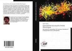 Convection et couche limite thermique kitap kapağı