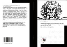 Обложка Propriétés physico-chimiques et caractérisation