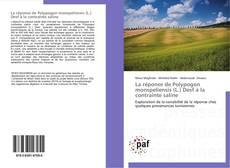 Bookcover of La réponse de Polypogon monspeliensis (L.) Desf à la contrainte saline
