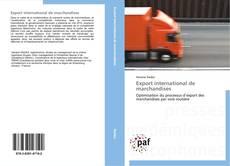 Bookcover of Export international de marchandises