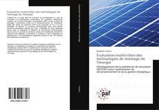 Portada del libro de Évaluation multicritère des technologies de stockage de l'énergie