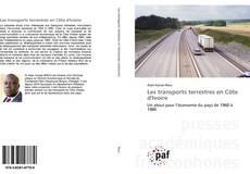 Buchcover von Les transports terrestres en Côte d'Ivoire