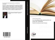 Bookcover of La cessation des paiements en droit de l'OHADA