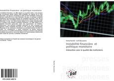 Couverture de Instabilité financière et politique monétaire