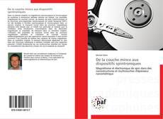 Capa do livro de De la couche mince aux dispositifs spintroniques