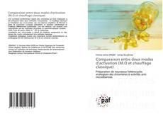 Buchcover von Comparaison entre deux modes d'activation (M.O et chauffage classique)