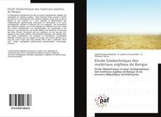 Capa do livro de Etude Géotechnique des matériaux argileux de Bangui