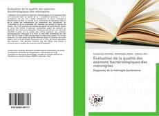 Couverture de Évaluation de la qualité des examens bactériologiques des méningites