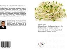 Buchcover von Physiologie de l'adaptation de la luzerne au stress salin