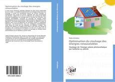 Capa do livro de Optimisation du stockage des énergies renouvelables