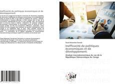 Buchcover von Inefficacité de politiques économiques et de développement: