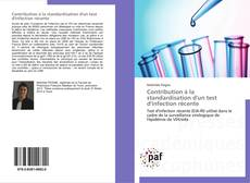 Bookcover of Contribution à la standardisation d'un test d'infection récente