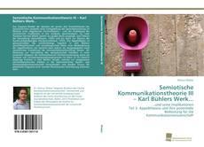 Portada del libro de Semiotische Kommunikationstheorie III – Karl Bühlers Werk...