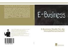 Buchcover von E-Business Studie für die Immobilienwirtschaft