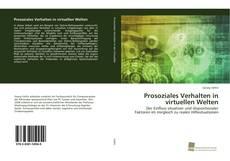 Buchcover von Prosoziales Verhalten in virtuellen Welten