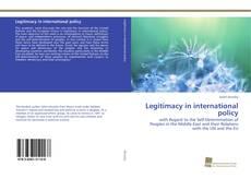 Couverture de Legitimacy in international policy