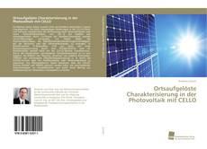 Bookcover of Ortsaufgelöste Charakterisierung in der Photovoltaik mit CELLO