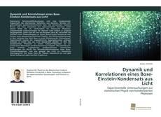 Buchcover von Dynamik und Korrelationen eines Bose-Einstein-Kondensats aus Licht