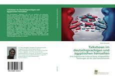 Bookcover of Talkshows im deutschsprachigen und ägyptischen Fernsehen