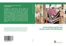 Bookcover of Unterstützung bei der Suche nach Verschütteten