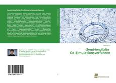 Bookcover of Semi-implizite Co-Simulationsverfahren