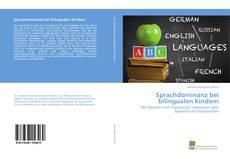 Couverture de Sprachdominanz bei bilingualen Kindern