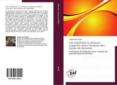 Portada del libro de Les machines à vecteurs supports dans l'analyse des bases de données