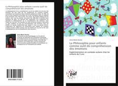 Portada del libro de La Philosophie pour enfants comme outil de compréhension des émotions